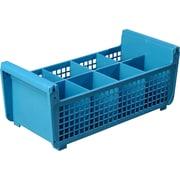 "Carlisle  Perma-Sil™ Flatware Basket without Handles, 17"" x 7.75"" x 6.9"", Carlisle Blue (C32P114)"