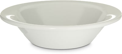 Carlisle Kingline™ Melamine Rimmed Fruit Bowl, 5 oz, White (KL80002)