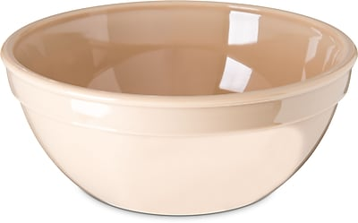 Carlisle Polycarbonate Nappie Bowl, 15 oz, Tan (PCD31925)
