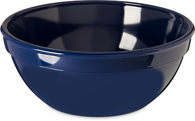 Carlisle  Polycarbonate Nappie Bowl, 15 oz, Dark Blue (PCD31950)