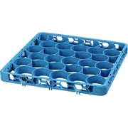 Carlisle  OptiClean™ NeWave™ Short Glass Rack Extender, 30 Compartment, Carlisle Blue (REW30S14)