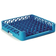 "Carlisle  OptiClean™ Open End All Purpose Tall Peg Dish Rack, 3"" Pegs, Carlisle Blue (ROP14)"
