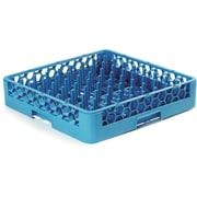 "Carlisle  OptiClean™ Tall Peg Plate and Tray Rack, 3"" Pegs, Carlisle Blue (RTP14)"