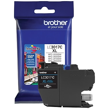 Brother – Cartouche d'encre cyan LC301 (LC3017CS)