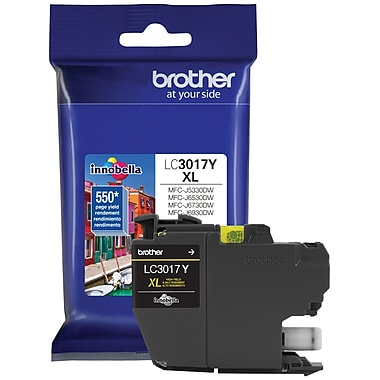 Brother – Cartouche d'encre jaune LC301 (LC3017YS)
