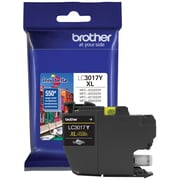 Brother LC3017 Yellow Ink Cartridge, High Yield (LC3017YS)