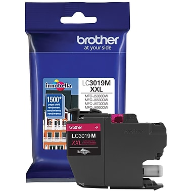 Brother – Cartouche d'encre magenta, LC3019MS