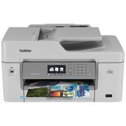 Brother – Imprimante sans fil Business Smart Pro MFC-J6535DW avec cartouches Inkvestment (MFCJ6535DW)