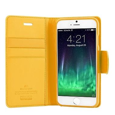 Mercury - Étui format journal Sonata pour iPhone 6s, jaune (MR-SD-iP6-YW)