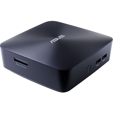 ASUS – PC de table UN65U-M023M VivoMini dépouillé, Intel Core i3-7100U à 2,4 GHz