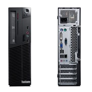 Lenovo - PC de table M72EThinkCentre SFF remis à neuf, 2,9 GHz Intel Pentium G2020, DD 250 Go, 4 Go DDR3, Windows 10 Famille