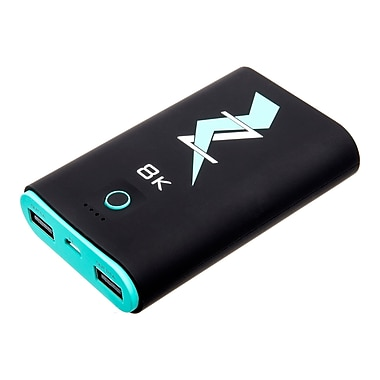 Z Bank 8,000 MAH Dual Output Portable Charger