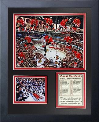 Legends Never Die 2013 Chicago Blackhawks Champions Framed Memorabilia
