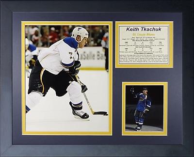 Legends Never Die Keith Tkachuk Framed Memorabilia