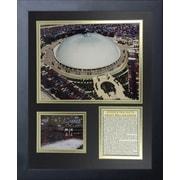 Legends Never Die Pittsburgh Penguins Mellon Arena Framed Memorabilia