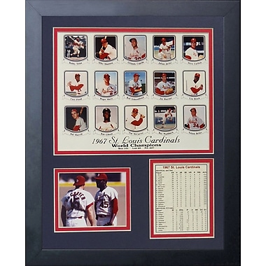 Legends Never Die 1967 St. Louis Cardinals Framed Memorabilia