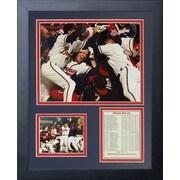 Legends Never Die 1995 Atlanta Braves Champions Framed Photographic Print