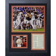 Legends Never Die MLB San Francisco Giants 2014 World Series Champions Framed Memorabilia