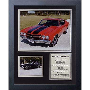 Legends Never Die 1970 Chevelle 454 SS LS6 Framed Memorabilia