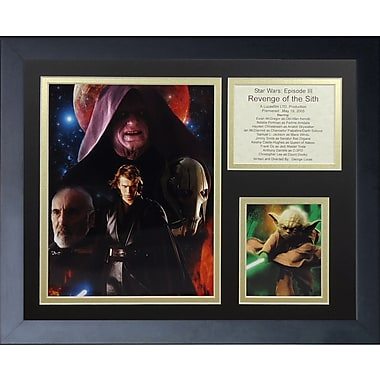 Legends Never Die Star Wars: Revenge of the Sith Framed Memorabilia