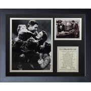 Legends Never Die It's A Wonderful Life Framed Memorabilia