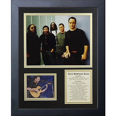 Legends Never Die Dave Matthews Band Framed Memorabilia