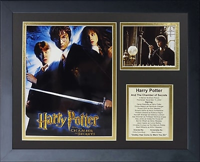 Legends Never Die Harry Potter and the Chamber of Secrets Framed Memorabilia