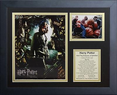 Legends Never Die Harry Potter and the Prisoner of Azkaban Collage Framed Memorabilia