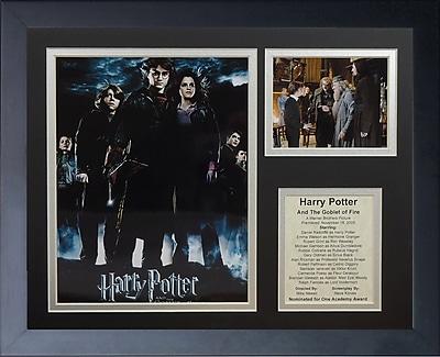 Legends Never Die Harry Potter and the Goblet of Fire Framed Memorabilia