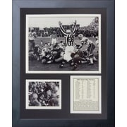 Legends Never Die Green Bay Packers Ice Bowl The Sneak Framed Photographic Print