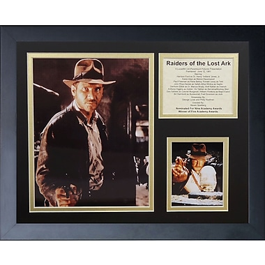 Legends Never Die Indiana Jones Raiders of the Lost Ark Framed Memorabilia