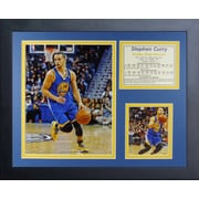 Legends Never Die Steph Curry - Golden State Warriors Framed Memorabilia