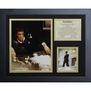 Legends Never Die Scarface Desk Framed Memorabilia