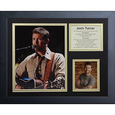 Legends Never Die Josh Turner Framed Memorabilia