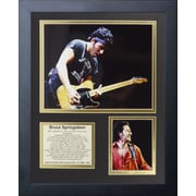Legends Never Die Bruce Springsteen Framed Memorabilia