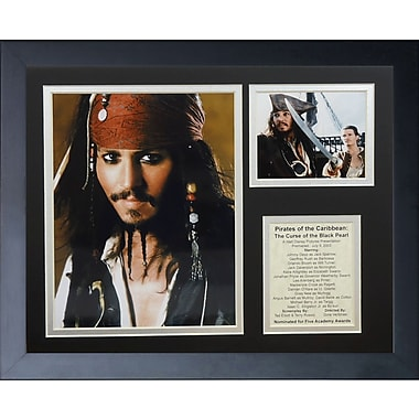 Legends Never Die Pirates of the Caribbean Framed Memorabilia