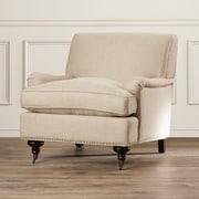 Charlton Home Arm Chair; Antique Gold