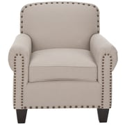 Charlton Home Yonkers Armchair; Taupe