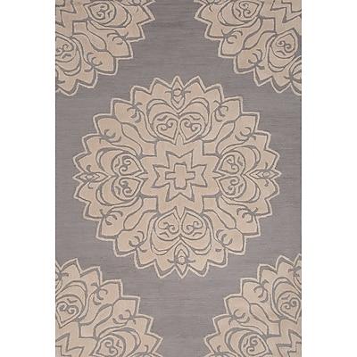 Charlton Home Norton Polyester Hand Tufted Area Rug; 2' x 3'