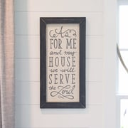 Glory Haus 'Me and My House' by Glory Haus Framed Texual Art