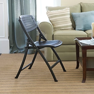 Mity Lite Flex One Folding Chair (Set of 40); Black / Black