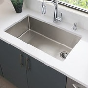 Elkay Crosstown 31.5'' x 18.5'' Undermount Kitchen Sink