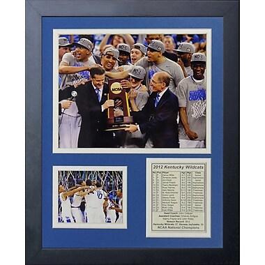 Legends Never Die 2012 Kentucky Wildcats Champions - Podium Framed Photographic Print