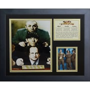 Legends Never Die The Three Stooges Attorneys Framed Photographic Print