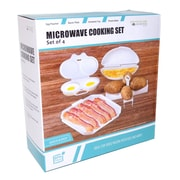 Tectron 4 Piece Microwave Cooking Set