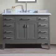 Ari Kitchen & Bath Danny 48'' Single Bathroom Vanity Set; White