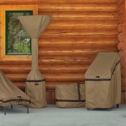 Classic Accessories Hickory Heavy-Duty Pyramid Torch Heater Cover