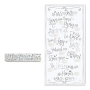 LighthouseChristianProducts 2 Piece All My Heart Plaque Wall Decor Set