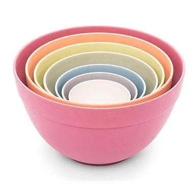 Bamboozle 7 Piece Bamboo Pastel Nesting Bowl Set