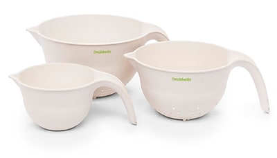 Bamboozle 3 Piece Utility Bowl and Colander